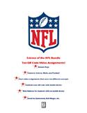 Science of the NFL QR Code Video Worksheet Bundle