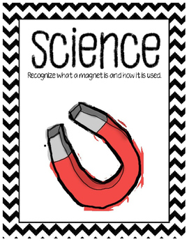 Science posters for I Can board