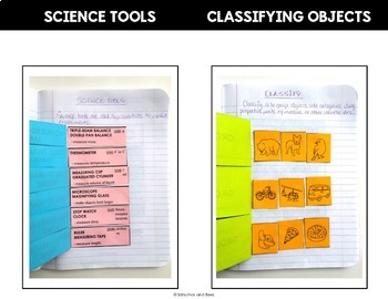 Science Process Skills Activities- Interactive Science Notebook