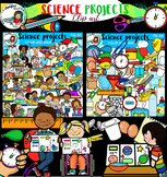 Science project clip art- 139 items!!