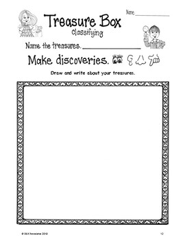 Science the Write Way Grade 1 Classifying