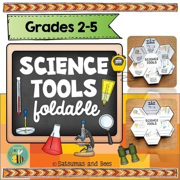 Science tools-Interactive Science Notebook foldables