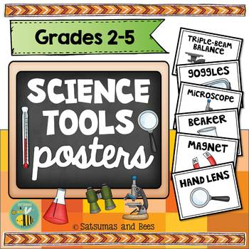 Science tools {Posters}