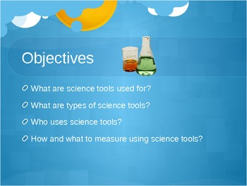 Science tools and Measurment Interactive Game and Powerpoint Presentation