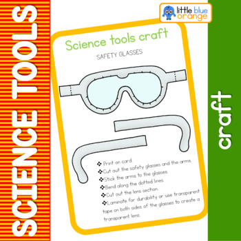 Science tools  craft - safety glasses goggles