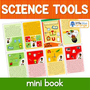 Science tools mini book