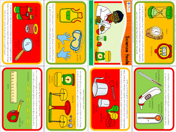 Science tools mini book (simplified version)