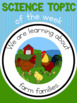 Science topic of the week poster - Farm families