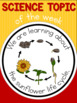 Science topic of the week poster - Sunflower life cycle