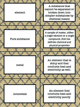 Science Vocabulary Games- Tier 2 and 3 Content Words
