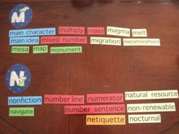 Science words with definitions