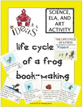 Frog Life Cycle Book-Making