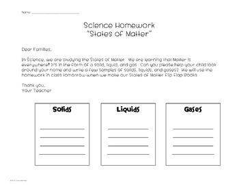 Science...Matter Mini Unit