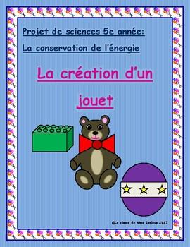 Sciences 5e année/Grade 5 Science Conservation d'energie/Energy Conservation