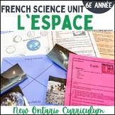 Sciences - L'espace