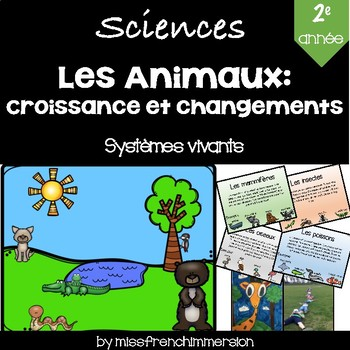 Sciences - Les animaux: Croissance et changements
