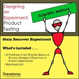 Scienitfic Method: Designing an Experiment Product Testing of Stain Removers