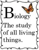 NGSS Scientific Alphabet