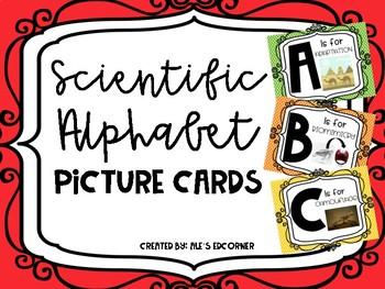 Scientific Alphabet- Picture Cards