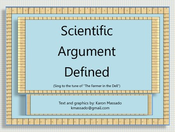 """Scientific Argument Defined"""