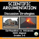 Scientific Argumentation: Earthquakes vs. Volcanoes