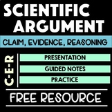 Writing Scientific Arguments with Claim Evidence Reasoning