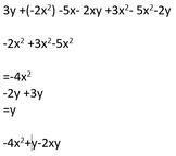 Simplifying like terms