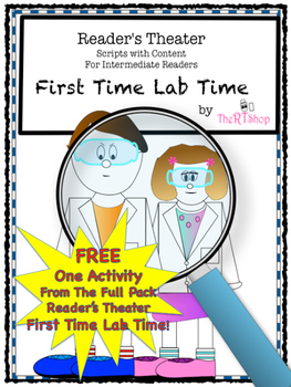 """Scientific Drawing, Free Activity From The Full Pack """"First Time Lab Time"""""""