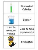 Scientific Equipment Matching Activity - Science Lab Equipment