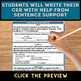 Scientific Explanation Summary (Claim, Evidence, Reasoning