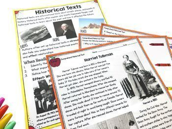 Scientific, Historical, & Technical Text - 4th & 5th Grade RI.4.10-RI.5.10