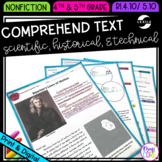 Comprehend Scientific, Historical, & Technical Text RI.4.10 RI.5.10