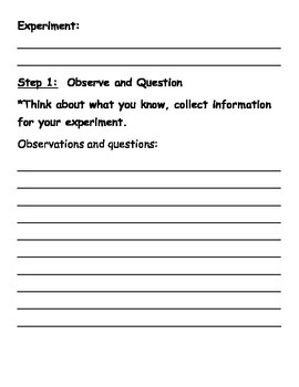 Scientific Inquiry Book