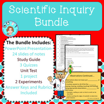 Scientific Inquiry Bundle – Scientific Method – Upper Elementary – No Prep