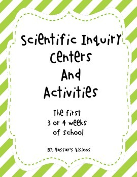 Scientific Inquiry Center Activities