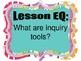 Scientific Inquiry Bulletin Board