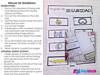 Scientific Inquiry Metodo Cientifico SPANISH Interactive Notebook Resource