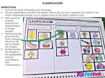 Scientific Inquiry Metodo Cientifico SPANISH Interactive Notebook Resource