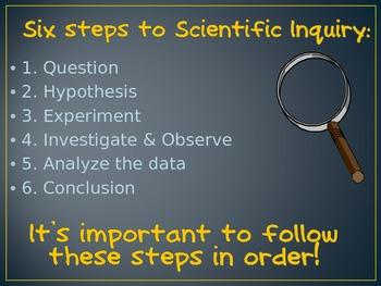 Scientific Inquiry PowerPoint