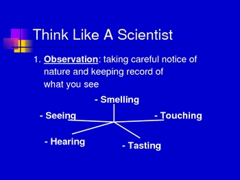 Scientific Inquiry PowerPoint (Method Observation Inference)