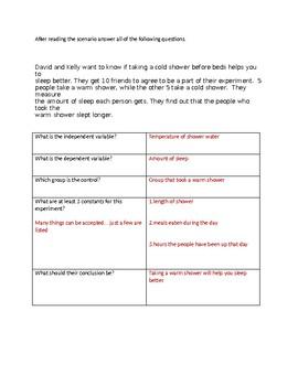 Scientific Inquiry Practice