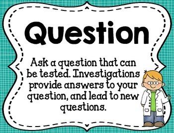 Scientific Inquiry Process Skills Posters