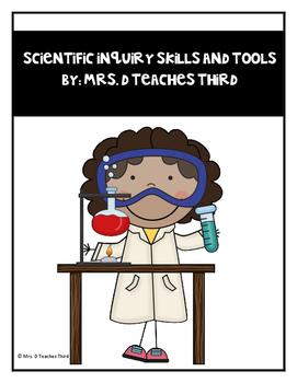 Scientific Inquiry Skills and Scientific Tools Worksheet