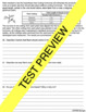 Scientific Inquiry Study Guide and Test
