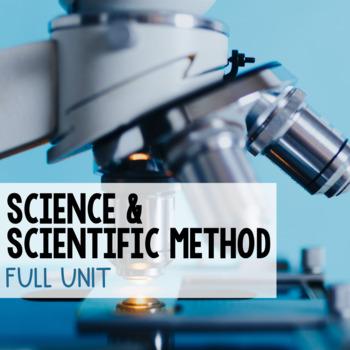 Scientific Inquiry Unit Bundle