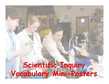 Scientific Inquiry Vocabulary Mini-Posters