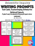 Scientific Inquiry & Scientific Method Writing Prompts