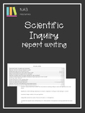 Scientific Inquiry and Lab report Writing