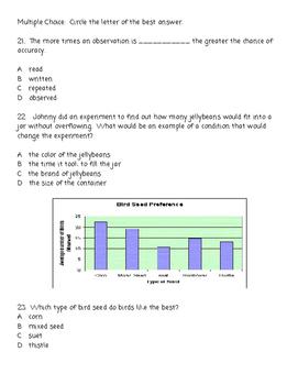 Scientific Investigation Assessment Test