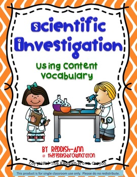 Scientific Investigation: Using Content Vocabulary